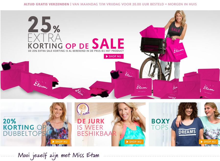 Miss Etam Online Shop